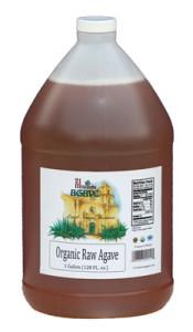 Raw Organic Blue Agave Nectar Amber