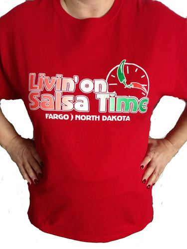 Livin' On Salsa Time T-Shirt