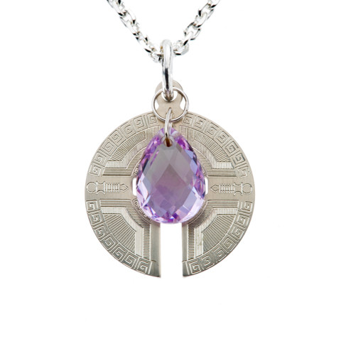 Inner Peace, Happiness, Protection Power Piece Necklace