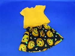 Halloween Top and Skirt