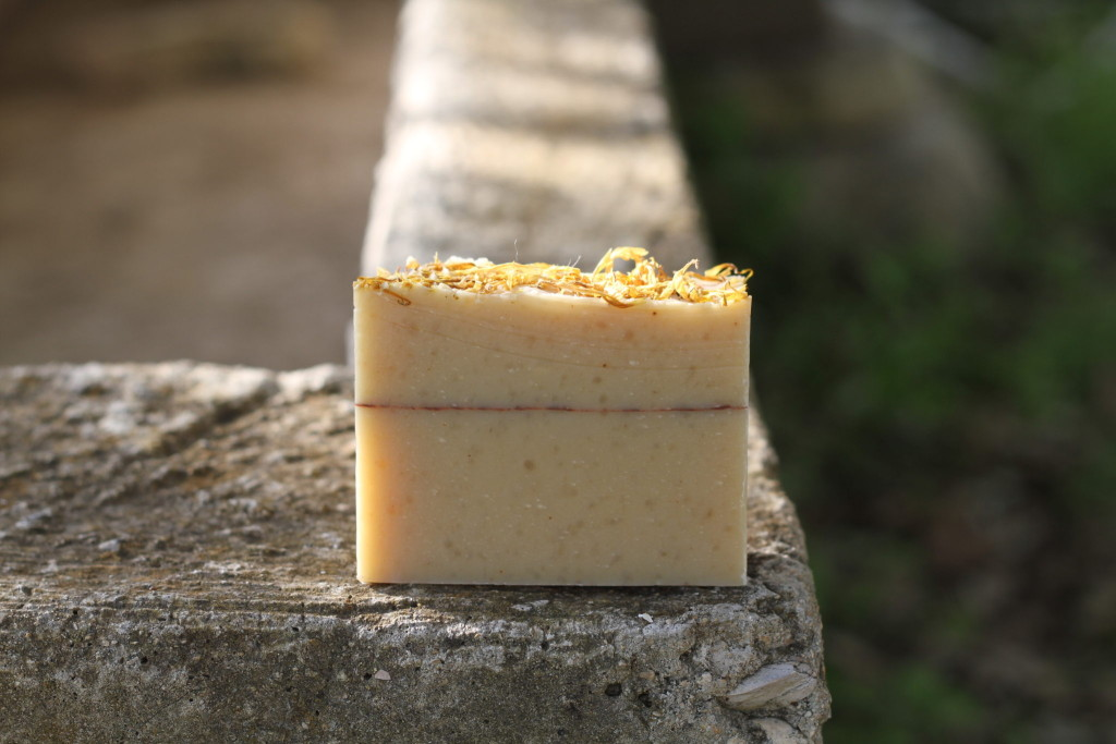 Orange & Clove Goats Milk Soap