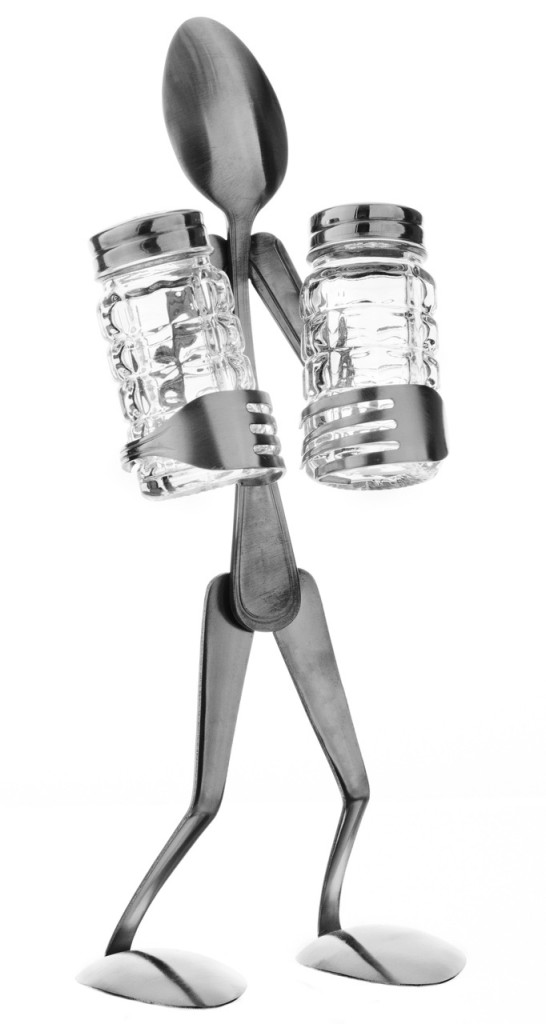 Salt and Pepper Stand - Spoon