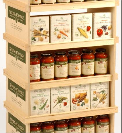 Natural Foods Display