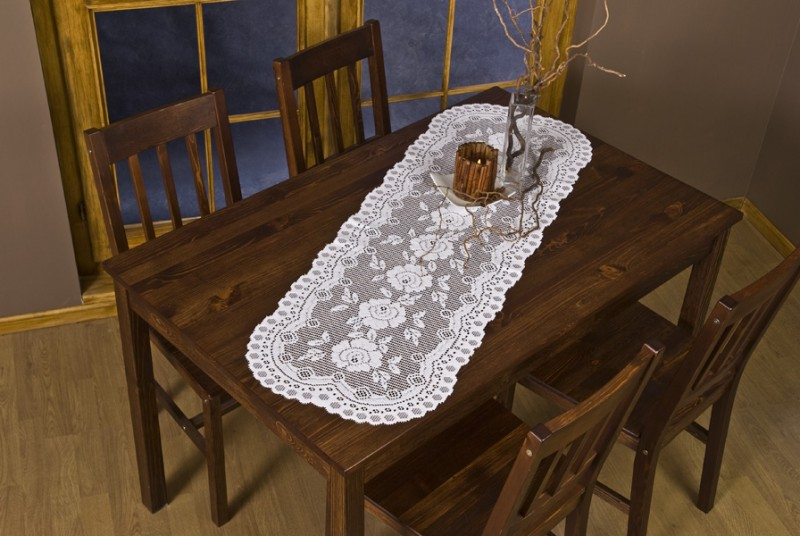European Lace Table Runner