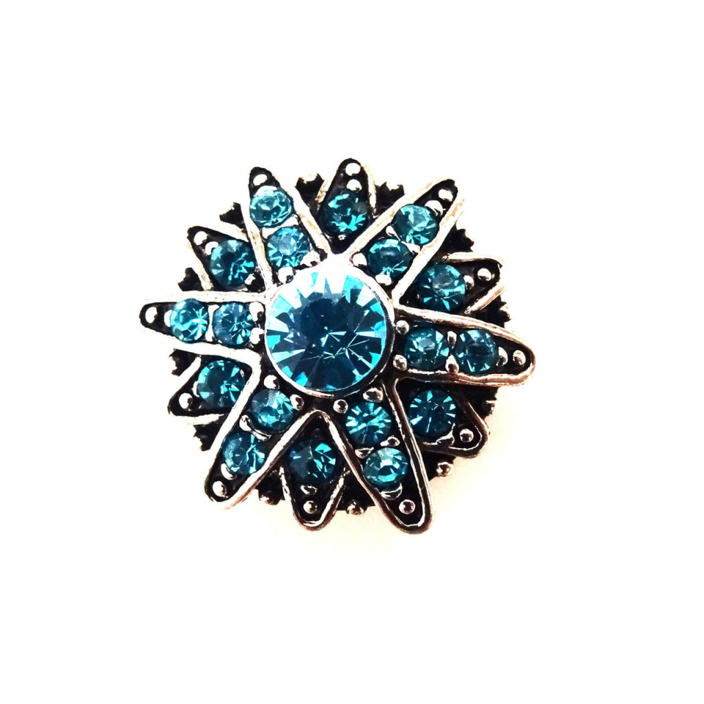 Alexandria Blue Snap Jewel