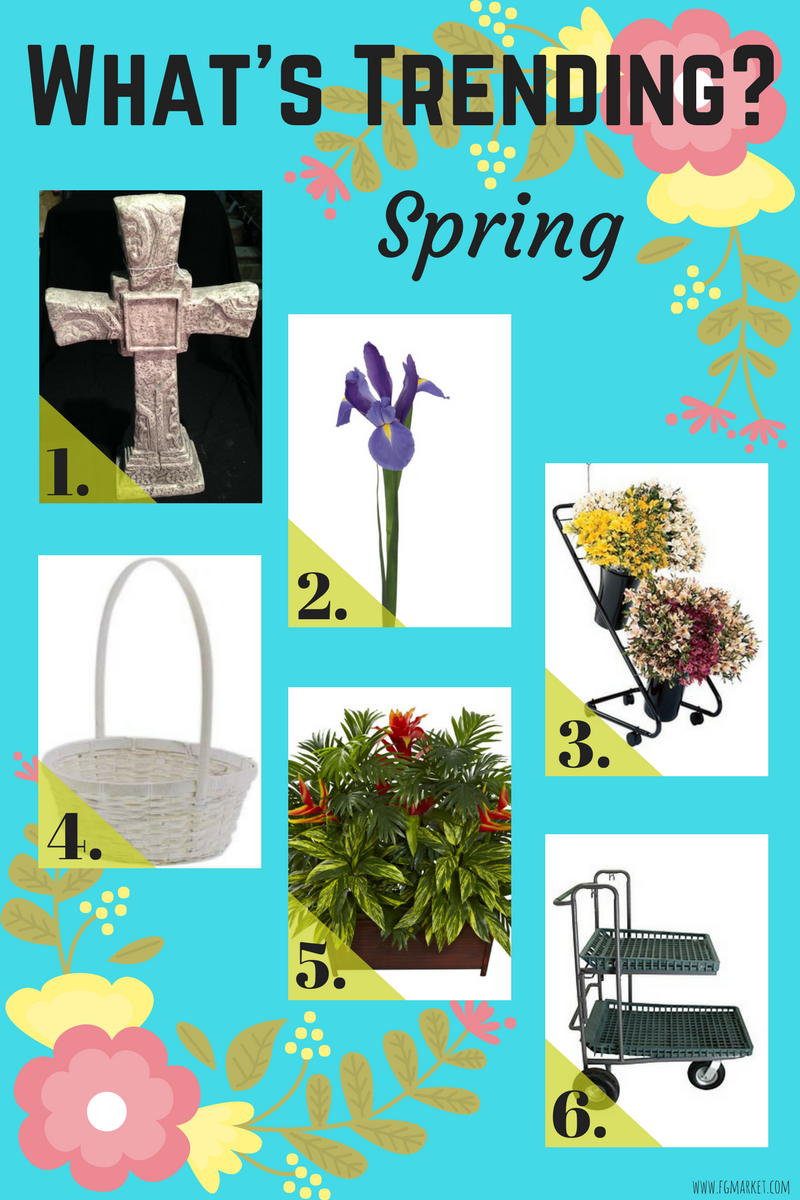 What's Trending? Spring Is Almost Here!