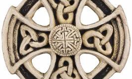 123 St. Columba Wheel Cross