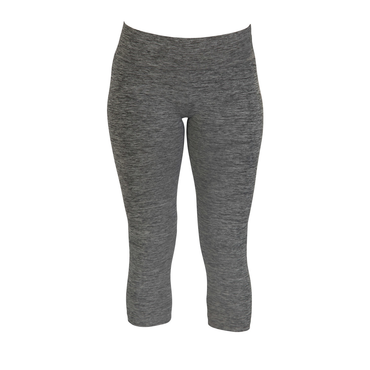 Movin' Capri Leggings - Blended Black