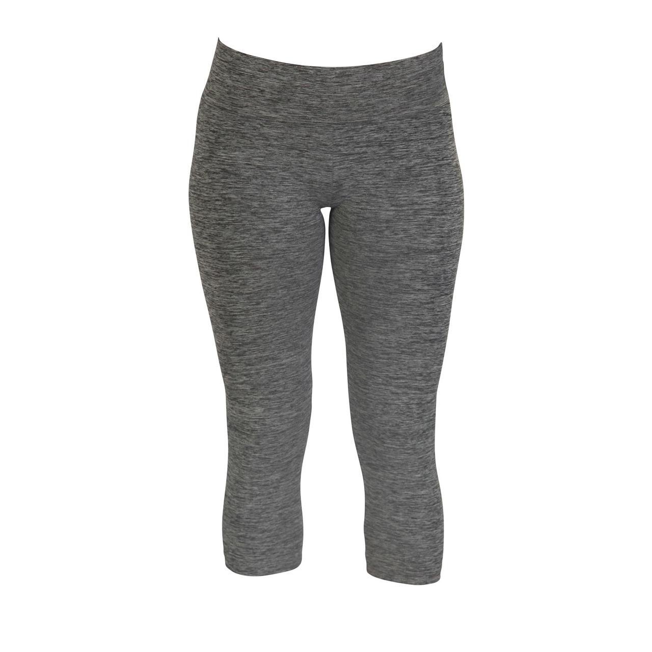 Movin' Capri Leggings - Blended Black