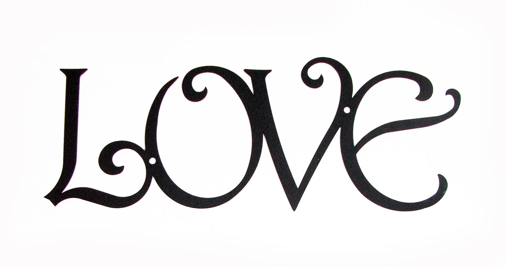 Wall Art -LOVE