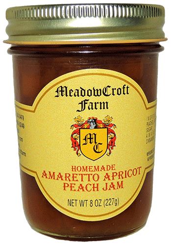 Amaretto Apricot Peach Jam