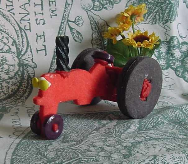 3D Tractor Cookie