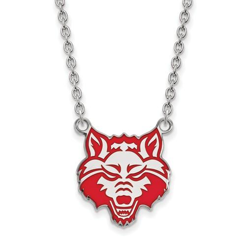 Arkansas State University Large Pendant Necklace