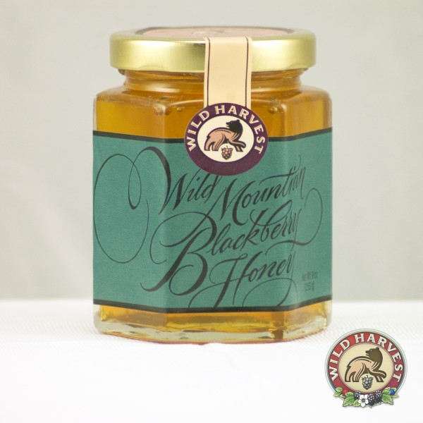 wild huckleberry honey