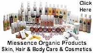 Personal Care Certified Organic Products