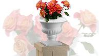 Wedding decor columns, pedestals, urns, props, more
